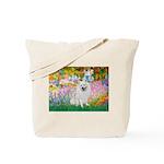 Garden / Eskimo Spitz #1 Tote Bag