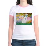 Garden / Eskimo Spitz #1 Jr. Ringer T-Shirt