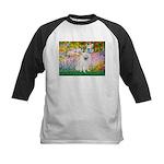 Garden / Eskimo Spitz #1 Kids Baseball Jersey