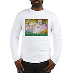 Garden / Eskimo Spitz #1 Long Sleeve T-Shirt