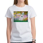 Garden / Eskimo Spitz #1 Women's T-Shirt