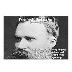 Nietzsche: Live Dangerously Postcards (Package of