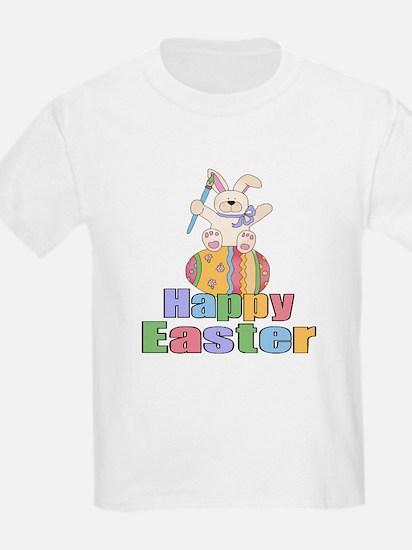Happy Easter Artist Bunny T-Shirt