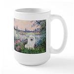 Seine / Eskimo Spitz #1 Large Mug