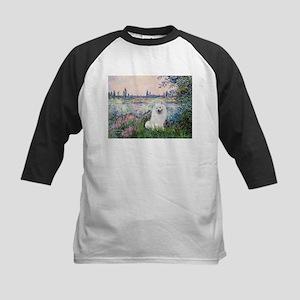 Seine / Eskimo Spitz #1 Kids Baseball Jersey