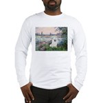 Seine / Eskimo Spitz #1 Long Sleeve T-Shirt