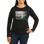 Seine / Eskimo Spitz #1 Women's Long Sleeve Dark T