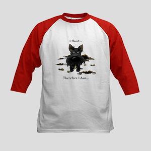 Scottish Terrier - I Hunt Kids Baseball Jersey