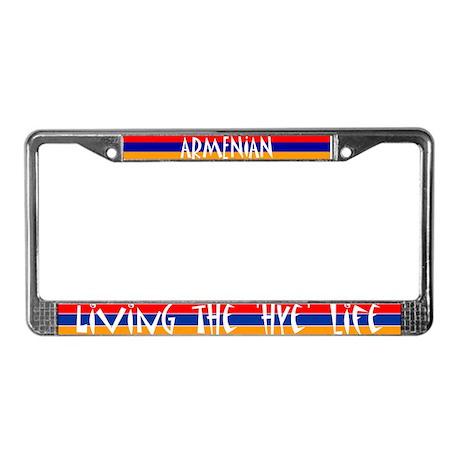 LIVING THE 'HYE' LIFE - License Plate Frame