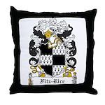 Fitz-Rice Coat of Arms Throw Pillow