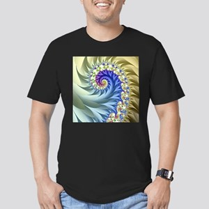 Feathered Mandelbrot Spiral T-Shirt