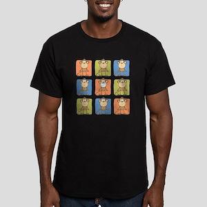 9 Monkeys Men's Fitted T-Shirt (dark)