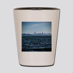 The city by the bay Shot Glass