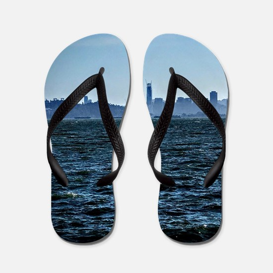 The city by the bay Flip Flops