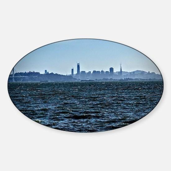 Cute Berkeley california Sticker (Oval)