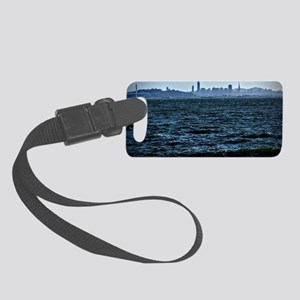 The city by the bay Small Luggage Tag