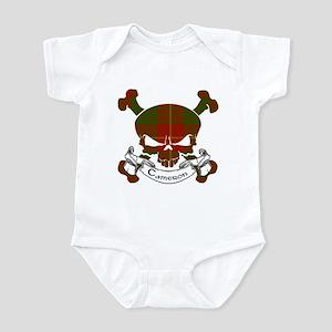 Cameron Tartan Skull Infant Bodysuit