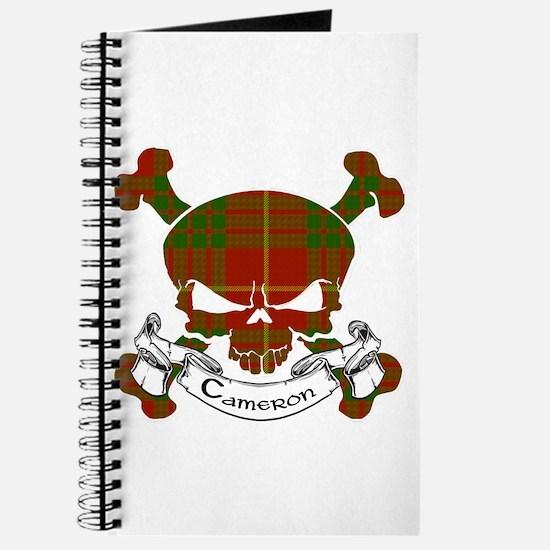 Cameron Tartan Skull Journal