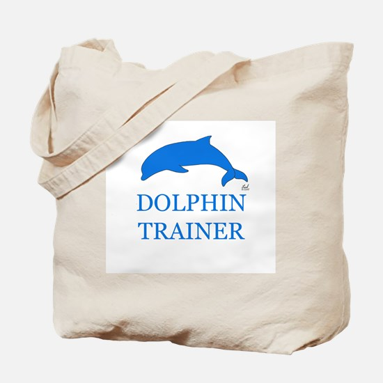 Dolphin Trainer Tote Bag