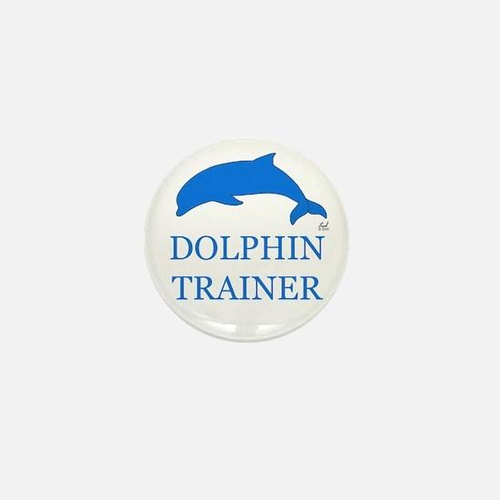 Dolphin Trainer Mini Button