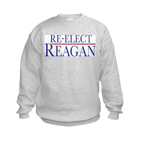 Re-Elect Reagan Kids Sweatshirt