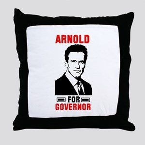 Arnold For (4) Governor Throw Pillow