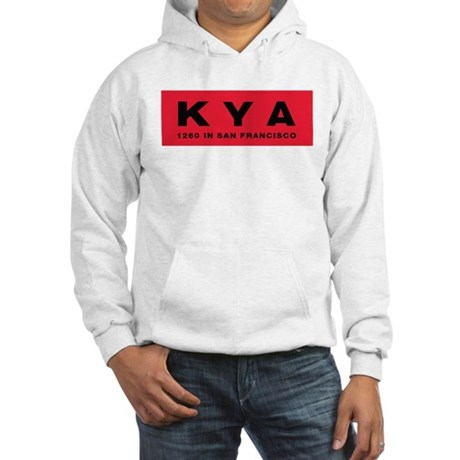 KYA San Francisco 1960 - Hooded Sweatshirt