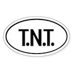 T.N.T. Oval Sticker