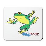 ASL Frog in Flight Mousepad