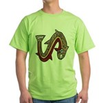 Pre-Columbian Green T-Shirt