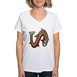 Pre-Columbian Women's V-Neck T-Shirt