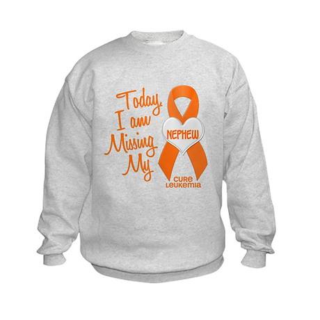 Missing My Nephew 1 LEUKEMIA Kids Sweatshirt