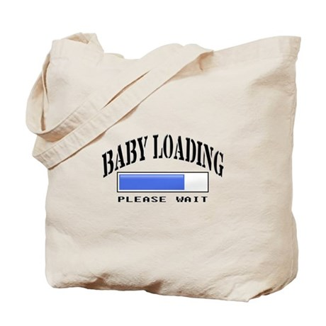 Baby loading Tote Bag