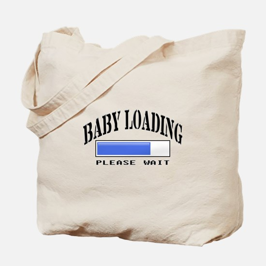 Baby loading Tote Bag