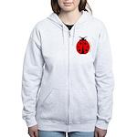 Ladybug Women's Zip Hoodie