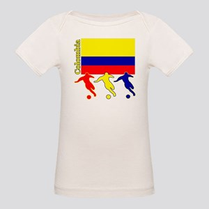 Colombia Soccer Organic Baby T-Shirt