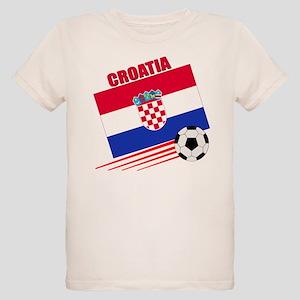 Croatia Soccer Team Organic Kids T-Shirt