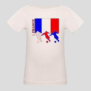 Soccer France Organic Baby T-Shirt