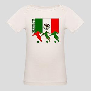 Soccer Mexico Organic Baby T-Shirt