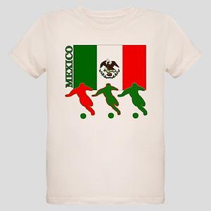 Soccer Mexico Organic Kids T-Shirt