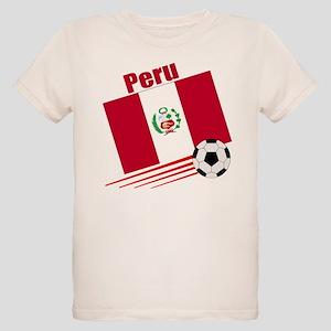 Peru Soccer Team Organic Kids T-Shirt