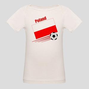 Poland Soccer Team Organic Baby T-Shirt