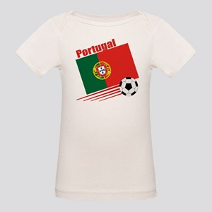 Portugal Soccer Team Organic Baby T-Shirt