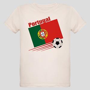 Portugal Soccer Team Organic Kids T-Shirt