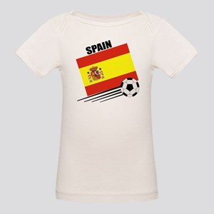 Spain Soccer Team Organic Baby T-Shirt