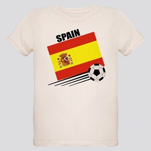 Spain Soccer Team Organic Kids T-Shirt