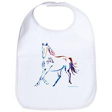 Horse of Many Colors Bib