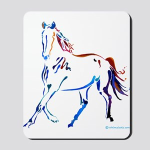 Horse of Many Colors Mousepad
