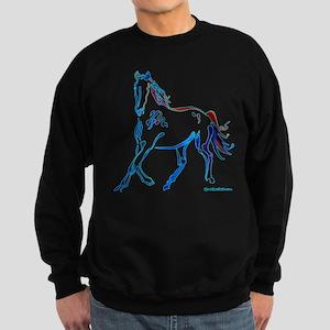 Horse of Many Colors Sweatshirt (dark)