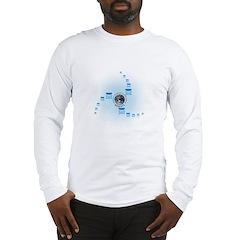 Spiral World Long Sleeve T-Shirt